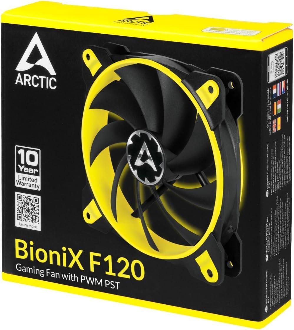 ARCTIC Case Fan Hub Distribuidor de Ventiladores PWM de 10 Veces con Potencia SATA
