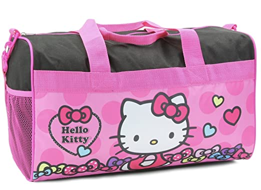 901a02ebf Amazon.com | Hello Kitty Black/Pink 18