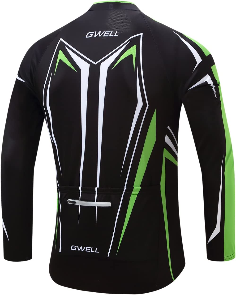 Includes Cycling Shorts With Seat Padding GWELL Mens Short Sleeve Long Sleeve Cycling Jersey Set