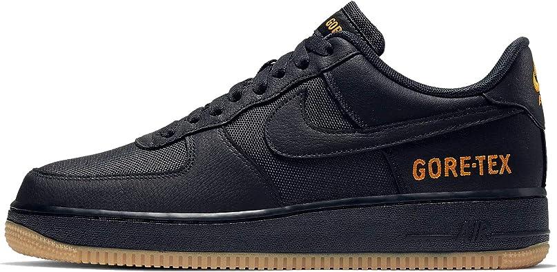 Nike Air Force 1 Gore-TEX - Zapatillas informales para hombre (11,  negro/carbón claro/cerámica brillante)