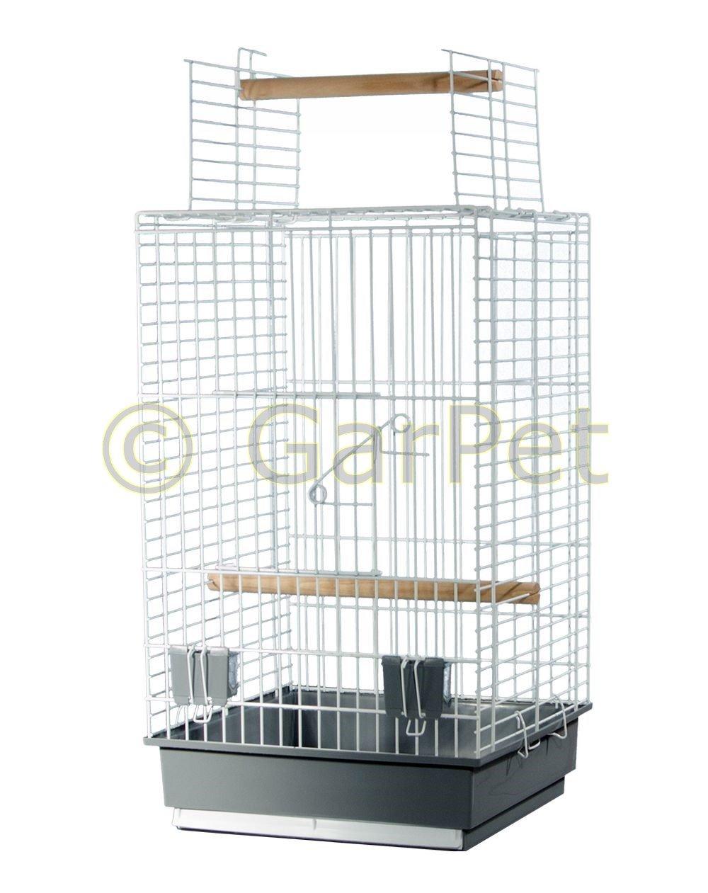 Vogelkäfig Papageienkäfig Papagei Freisitz Offen Vogel Käfig Ständer  Optional: Amazon.de: Haustier