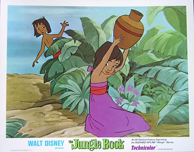 Jungle Book R-1978 Authentic Walt Disney animation classic ...