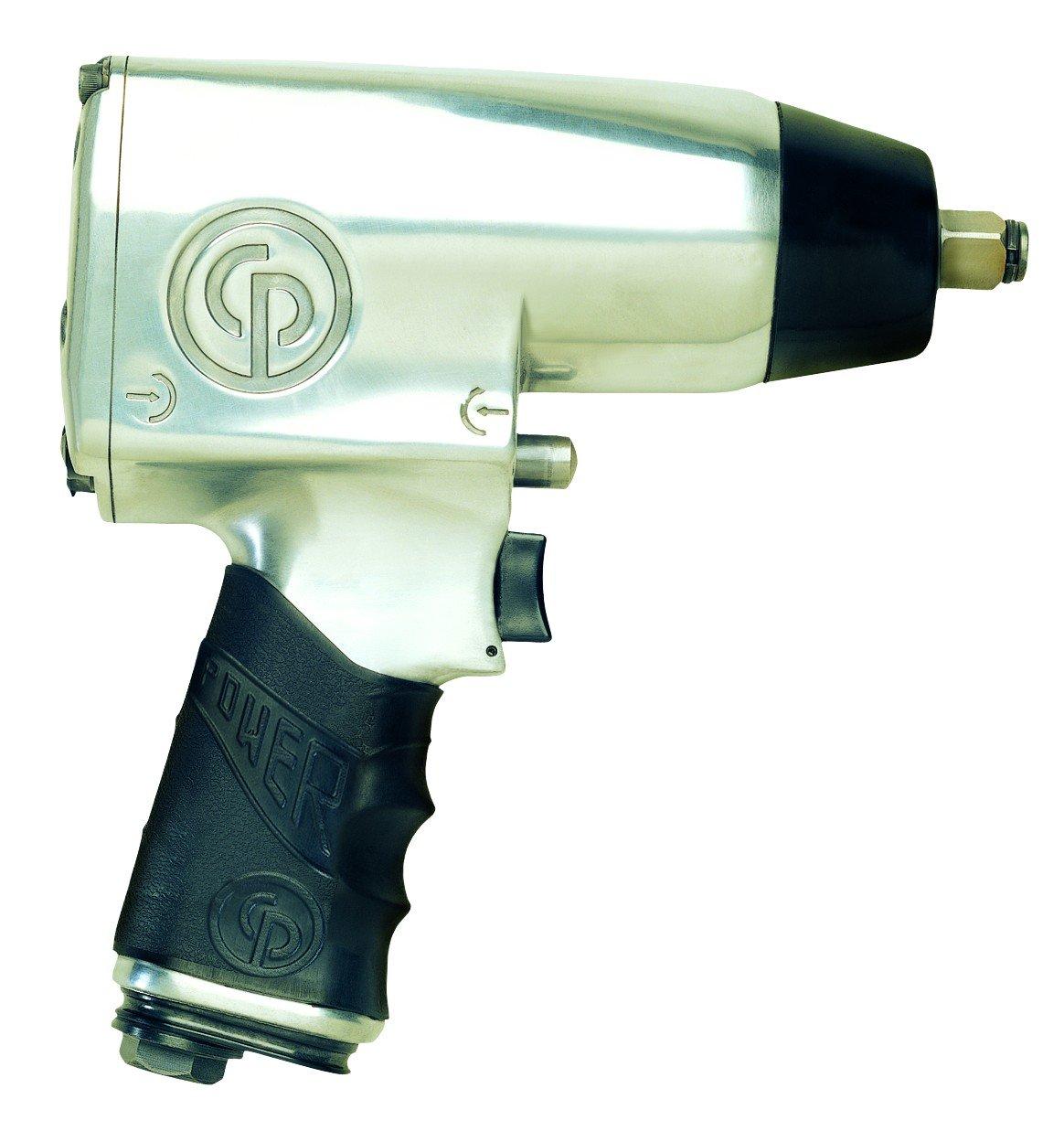 Chicago Pneumatic CP734H - Atornillador de impacto con aire comprimido (1/2 pulgada, 576 Nm máx.)