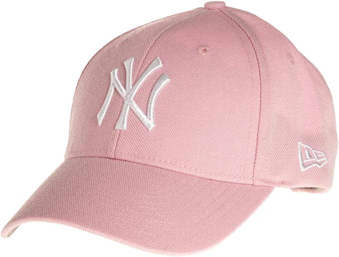 New Era – Gorra, diseño de los NY Yankees Rosa, Color blanco ...