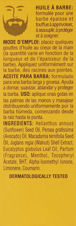 Proraso - Aceite De Barba, Madera Y Especias, Alisar y Proteger 30 ml
