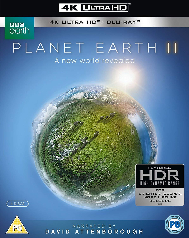 Planet Earth II [4k UHD + Blu-ray]: Amazon co uk: Sir David