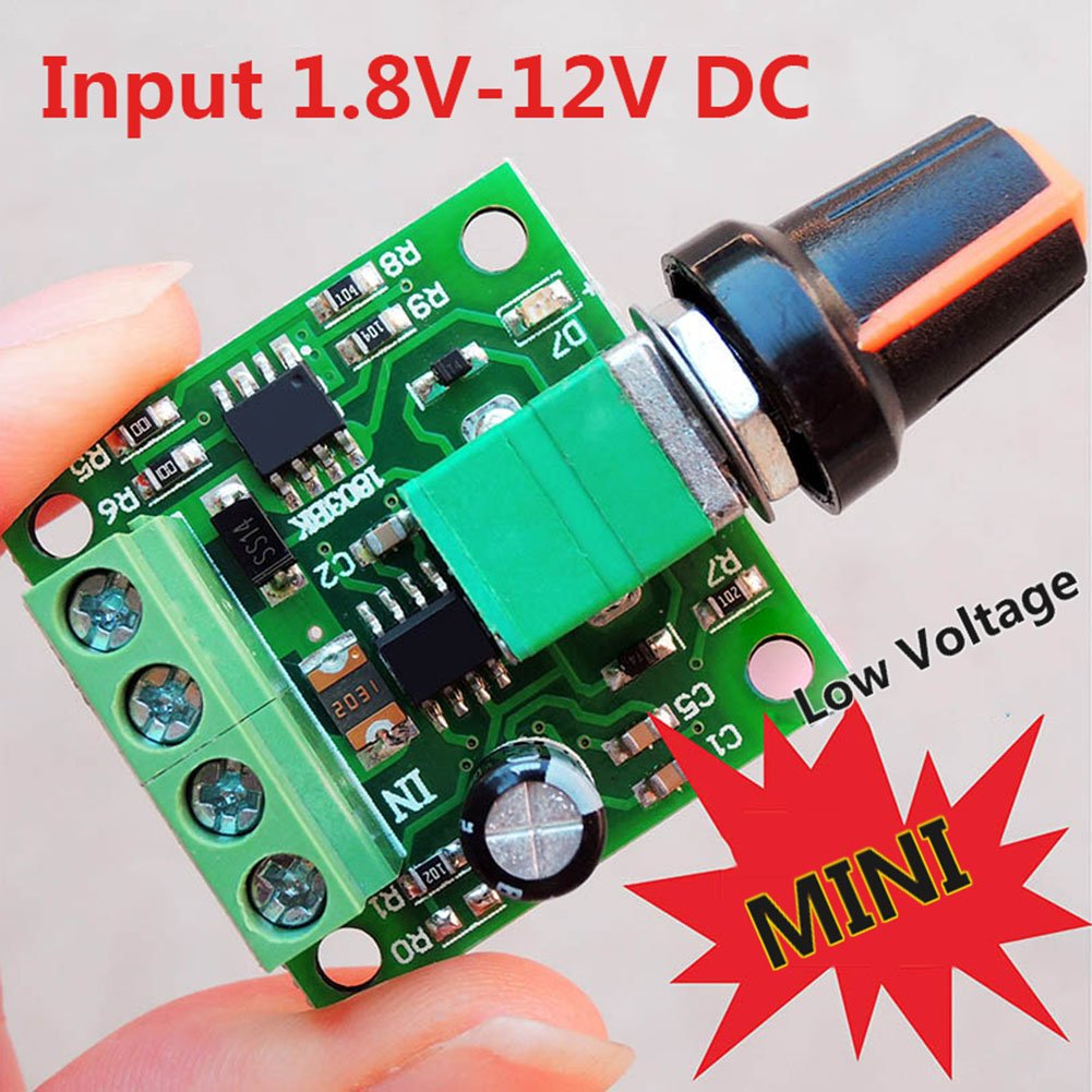 Riorand Rr Pwm 15v Low Voltage Dc 18v 3v 5v 6v 12v 2a Motor Speed Electronics Technology 5vdc To 12vdc Lt1070 Boost Converter Circuit Controller