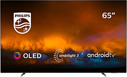 Philips 65OLED804/12 Televisor Smart TV OLED 4K UHD, 65 pulgadas (Android TV, Ambilight 3 lados, HDR10+, Dolby Vision, P5 Perfect Picture Engine, Google Assistant, Compatible con Alexa): 2353.4: Amazon.es: Electrónica