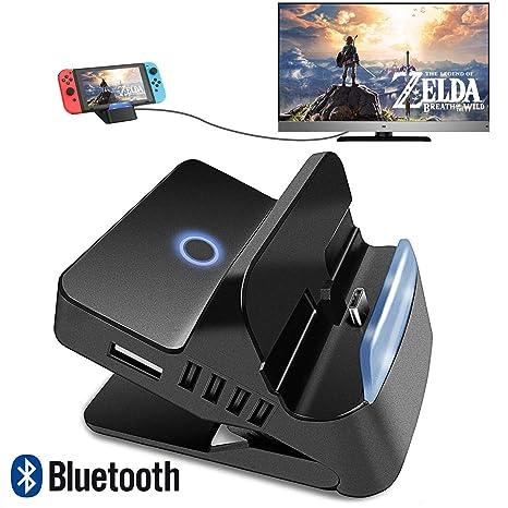 Quartet Trade - Base de conexión para Nintendo Switch TV Dock ...