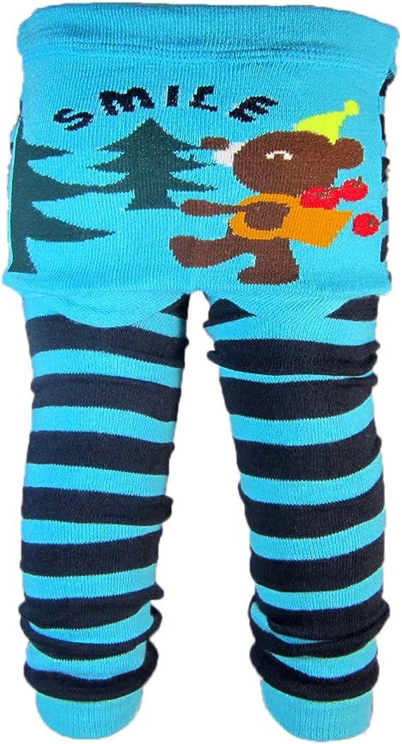 Dizoony Infantile Leggings Neonato Leggins Neonata Pantaloni Unisex Pants 0-24 Mesi