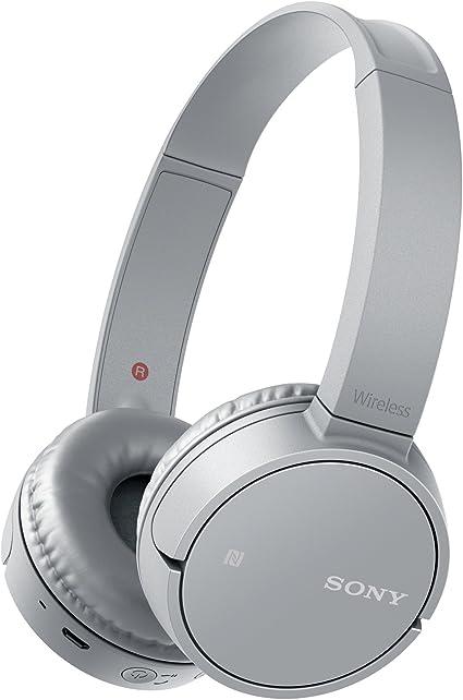 Sony MDR ZX220BT Cuffie Bluetooth, Driver da 30 mm, NFC, Grigio
