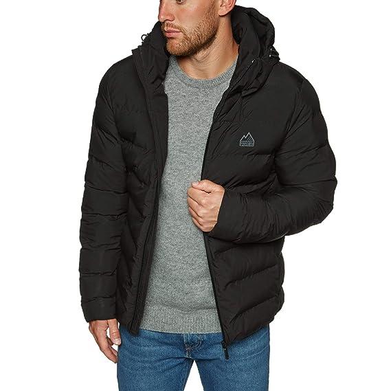 60d0ef8f74a945 Superdry Echo Quilt Puffer Jacket X Large Black: Amazon.co.uk: Clothing