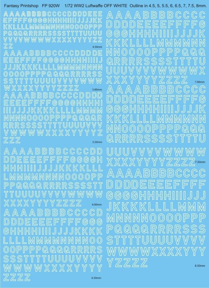 1//72-1//48 Decal for Luftwaffe 1939-1945 Swastikas Wet Decal Print Scale 48-007