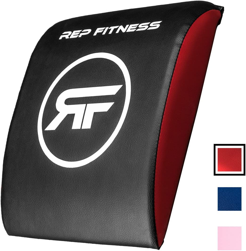 Rep Ab Support Mat with Optional Tailbone Protector Abdominal Exercise Mat for Situp and Core Workouts