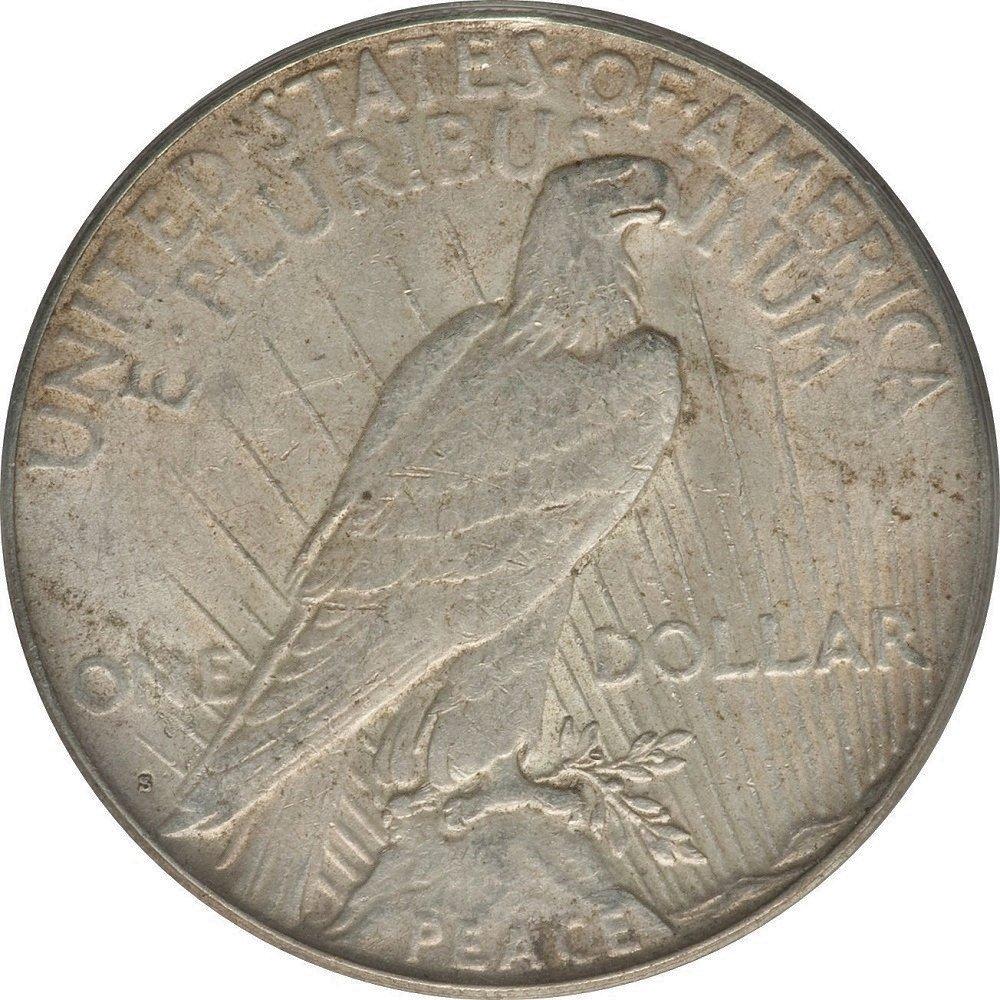 1925 S Peace $1 Very Fine