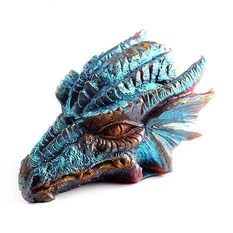 Grainrain 3D Dragon Mold Candle Mould Silicone Soap Bar