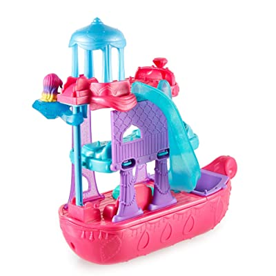 Fisher-Price Nickelodeon Shimmer & Shine, Teenie Genies, Genie Gem Cruiser: Toys & Games