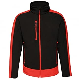 Regatta Mens Contrast Quick Dry Workwear Fleece Jacket