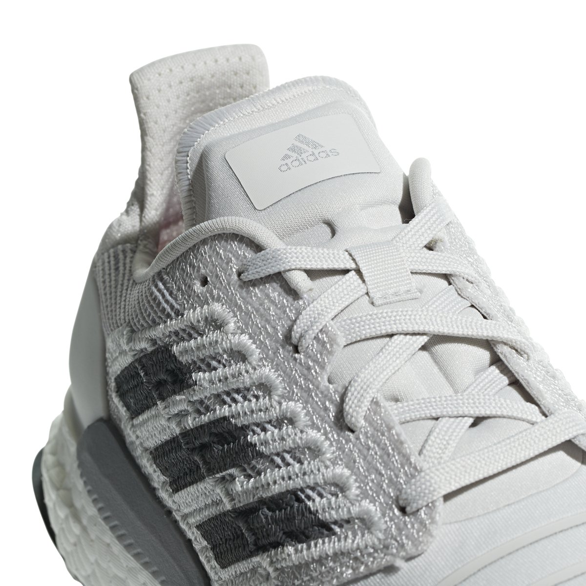 adidas Women's Solar Boost Running Shoe B077XK4HJ2 10.5 B(M) US Grey/Grey/Grey