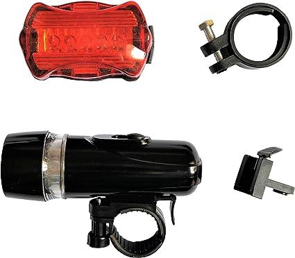Gute Lines - Kit de luz LED para bicicleta, faro delantero y ...