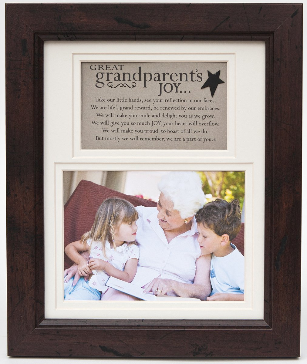 The Grandparent Gift Frame Wall Decor, Great-Grandparent's Joy Great-Grandparent's Joy The Grandparent Gift Co. 1135WL