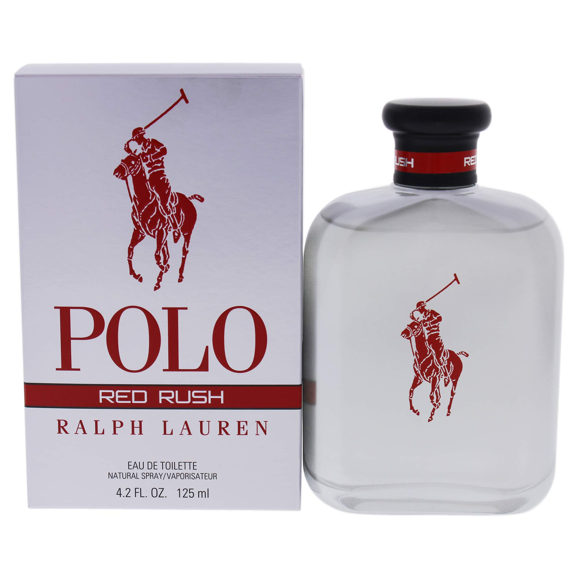Ralph Lauren Polo Red Rush By Ralph Lauren for Men 4.2 Oz Eau De Toilette Spray, 4.2 Ounce by Ralph Lauren