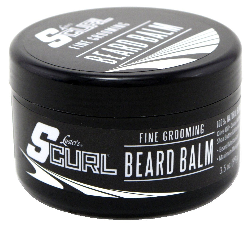 Lusters S-Curl Beard Balm 3.5 Ounce (103ml) (6 Pack)