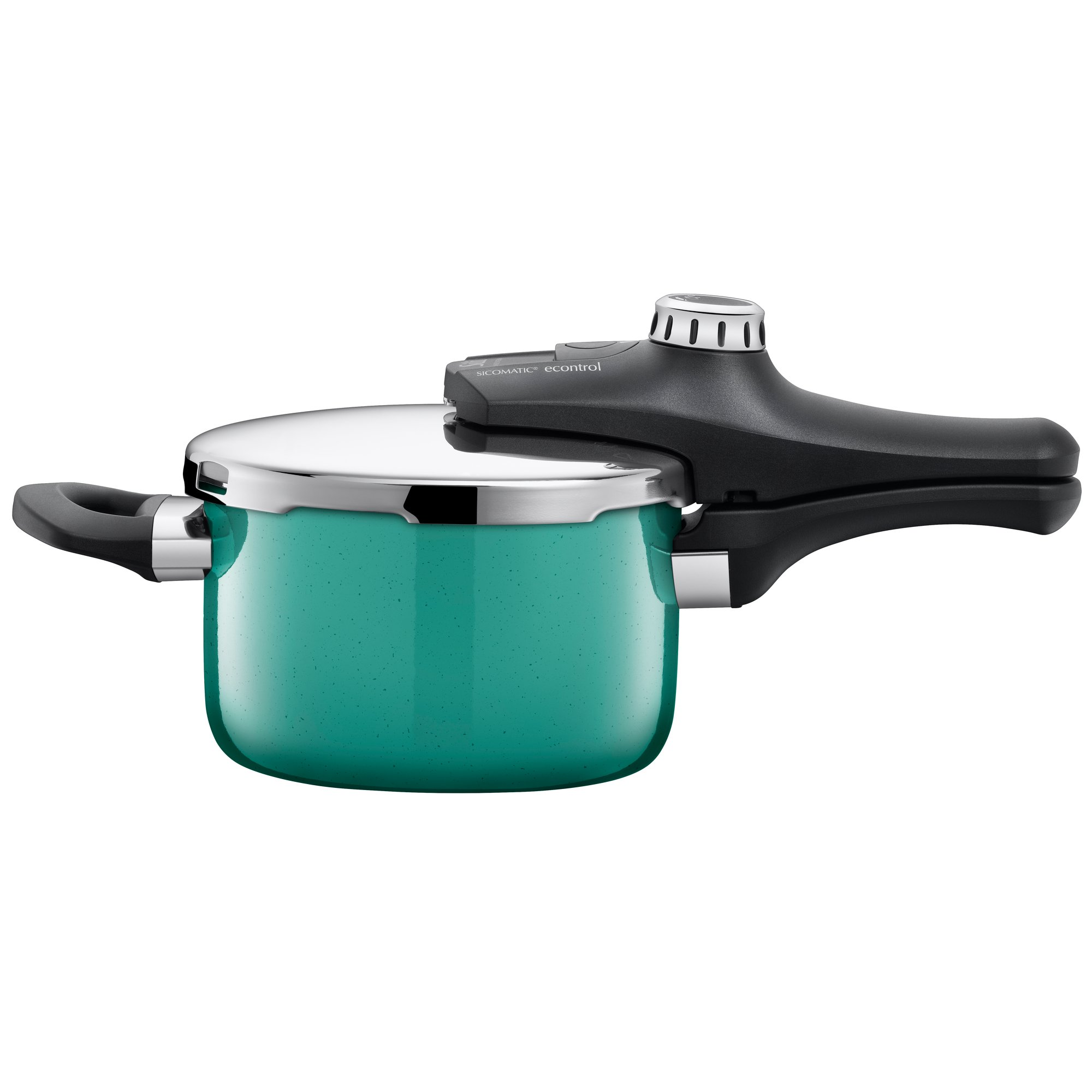 Silit Sicomatic econtrol Pressure Cooker Without Insert 2.5 L Diameter 18 cm Green Nature Green Made in Germany Markings Silargan Functional Ceramic Suitable for Induction Cookers NR 2120299356
