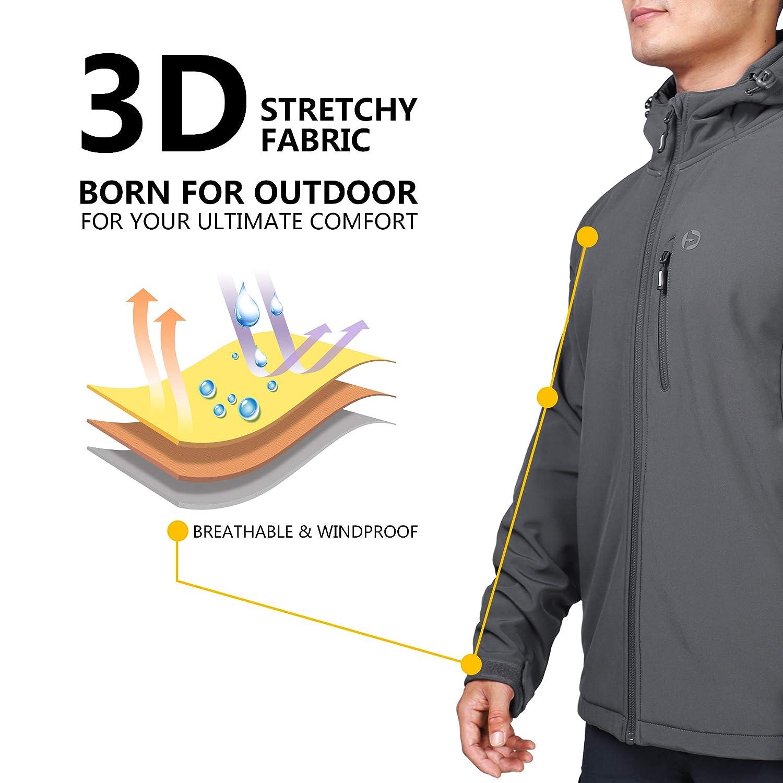 Amazon.com: Outdoor Ventures - Chaqueta de forro polar con ...