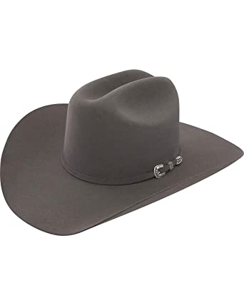 Stetson Men s 6X Skyline Granite Fur Felt Cowboy Hat Granite 6 7 8 ... c7ace3332b5