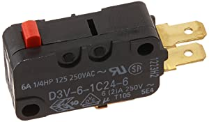 Frigidaire 5304456667 Refrigerator Micro Switch