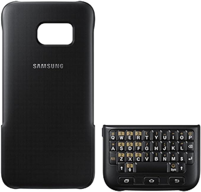 Samsung Keyboard Cover - Funda para Samsung Galaxy S7 Edge, color Negro: Amazon.es: Electrónica