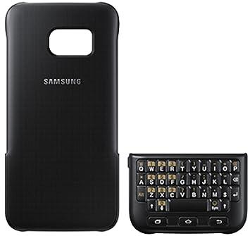 3c99a290b9f Samsung Keyboard Cover - Funda para Samsung Galaxy S7 Edge, color Negro:  Amazon.es: Electrónica