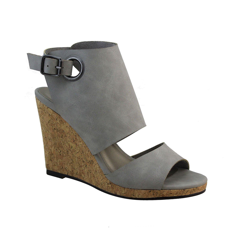 Michael Antonio Women's Gymniss Wedge Sandal B01N3SOB4U 8 B(M) US|Grey