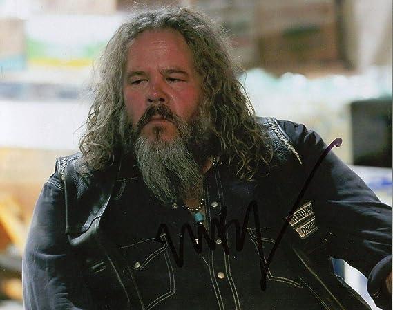 Mark Boone Jr, Signed Sons of Anarchy Robert Munson Samcro Color 10x8 Photo: Amazon.es: Juguetes y juegos