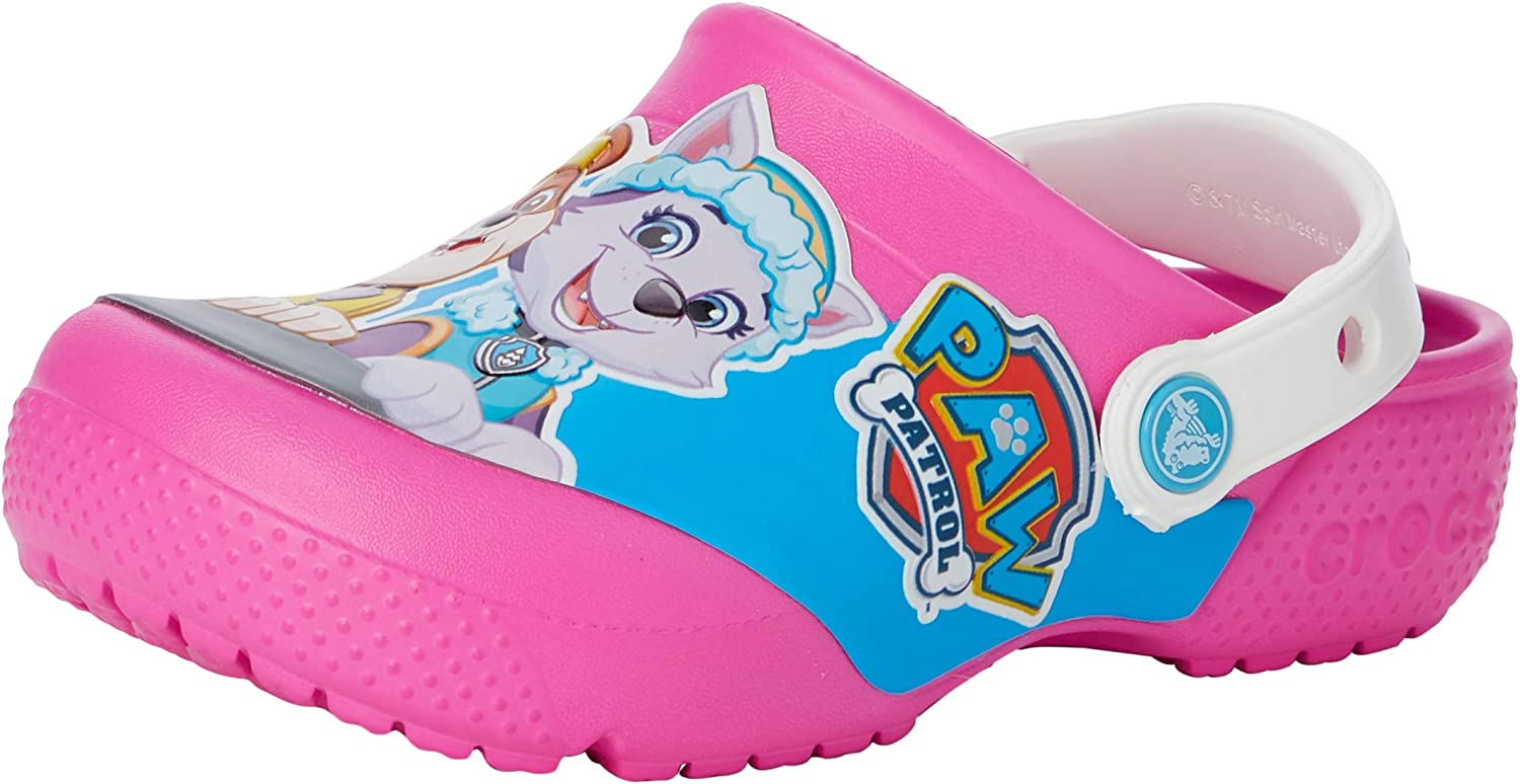 Crocs Kids' Paw Patrol Clog   Slip On Water Shoes for Boys and Girls