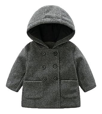 69b1058a17696 (ラボーグ) La Vogue ベビー服 キッズ コート ジャケット アウター 綿服 フード付き 長袖 ダッフル