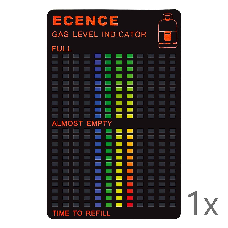 ECENCE 1x Magnético Gas Indicador De Nivel para Gas Combustible ...