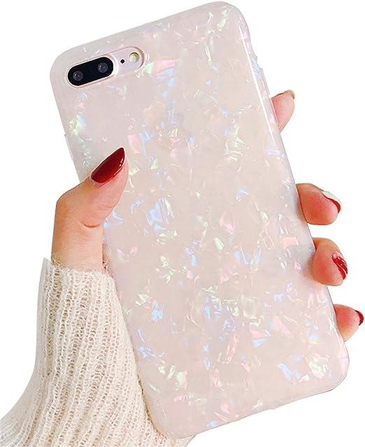 Hishiny Cover iPhone 8 Plus Custodia iPhone 7 Plus Ultra Sottile
