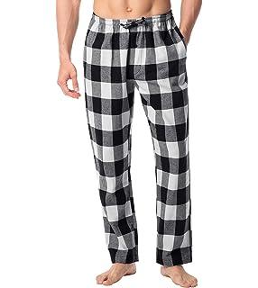Pack 2 caballeros de Cuadros Pantalones de andar por casa Pantalones Pijamas Fondos Polialgodón: Amazon.es: Ropa y accesorios