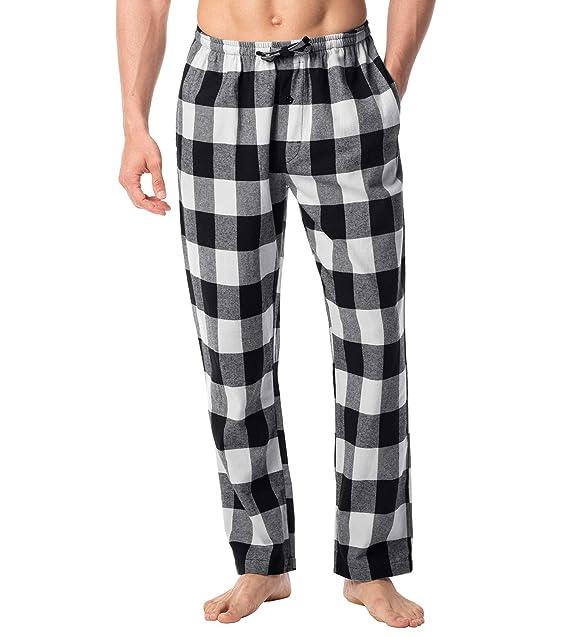 Amazon Essentials Pantalón Pijama de Franela Hombre