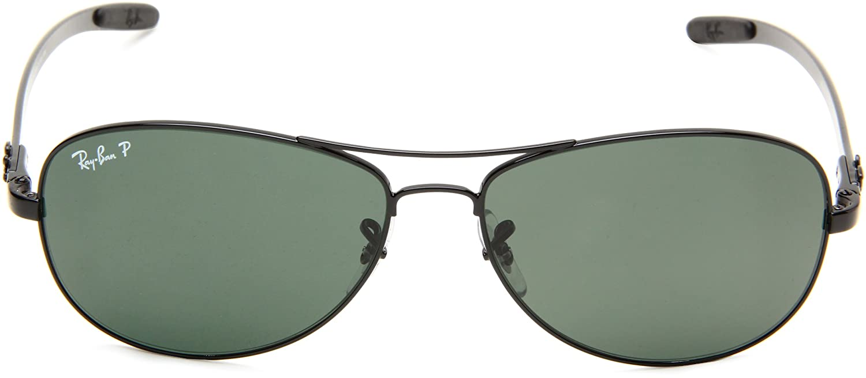 497de60d01 Ray-Ban Men s Polarized Sunglasses RB8301 59 mm  Rayban  Amazon.co.uk   Clothing