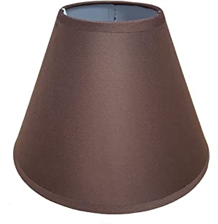 Suede effect two tier lamp shade for pendant ceiling lights 9 coolie ceiling table lamp shade main colour chocolate brown mozeypictures Images