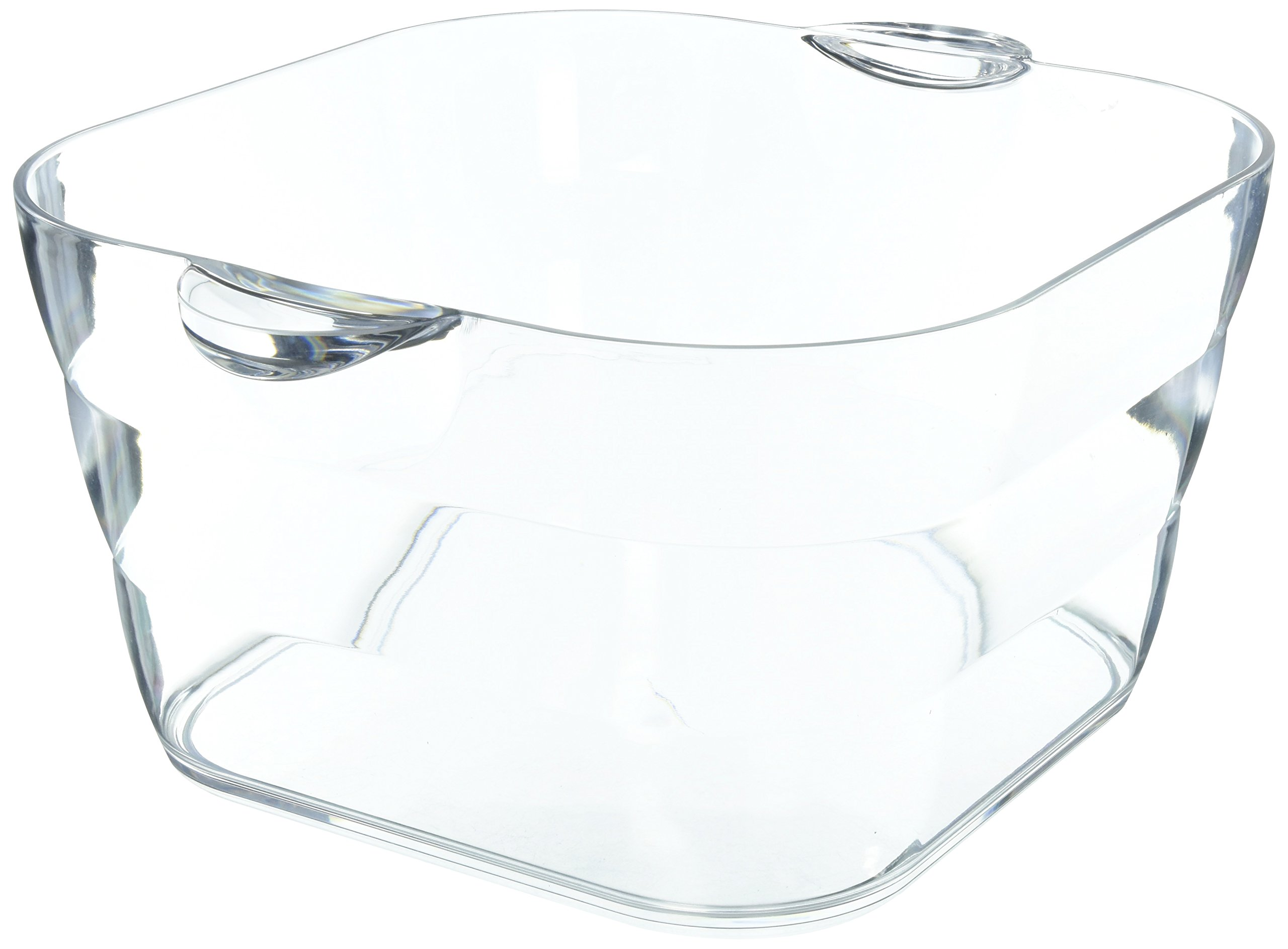 Prodyne AB-18-A Big Square Party Beverage Tub, Clear by Prodyne