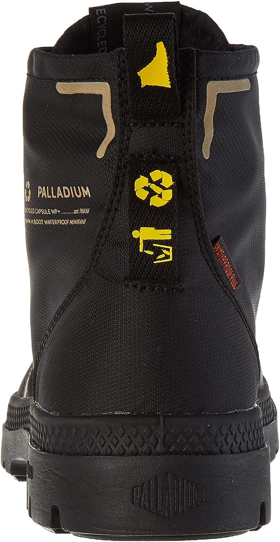 Palladium Lite+ Rc Wp+ U, Baskets Hautes Mixte Adulte Noir Black 466