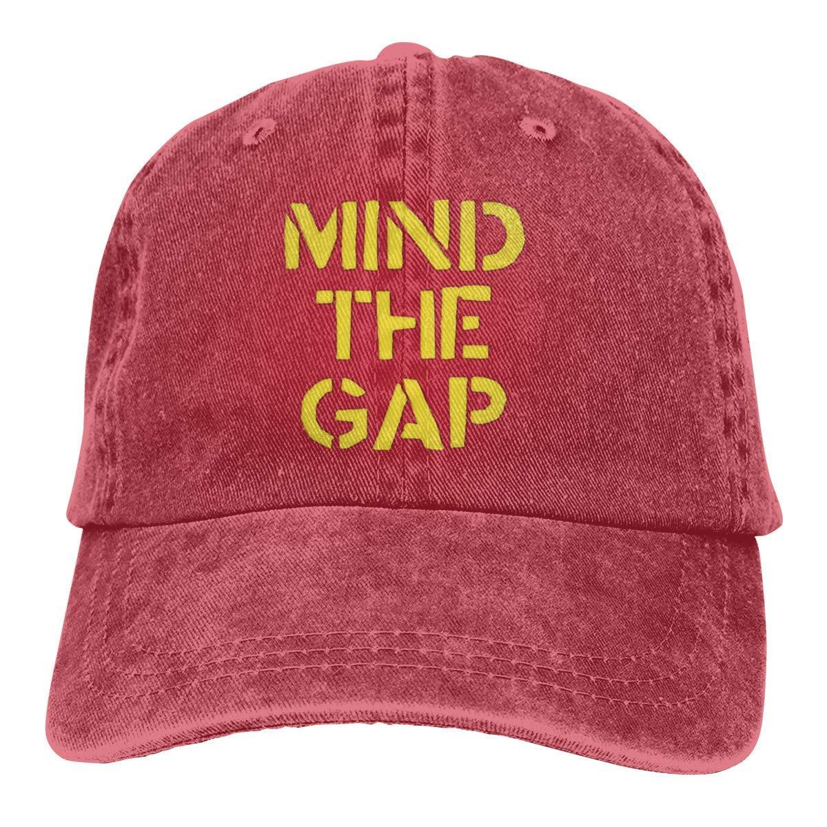 Anginry WGYWE Mind The Gap Causal Unisex Baseball Hat Adjustable ...