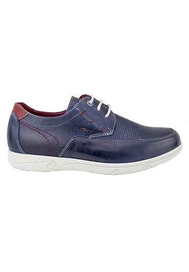 Fluchos Zapato CON Cordones Blucher Cuero - Marrón, 43