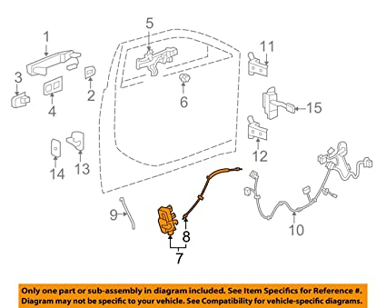 image unavailable  image not available for  color: general motors 22922943, door  lock actuator motor
