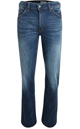 Mustang Stretch Jeans Tramper 111.5666.74 auch in extra lang stone   Amazon.de  Bekleidung ce7f1f03fd