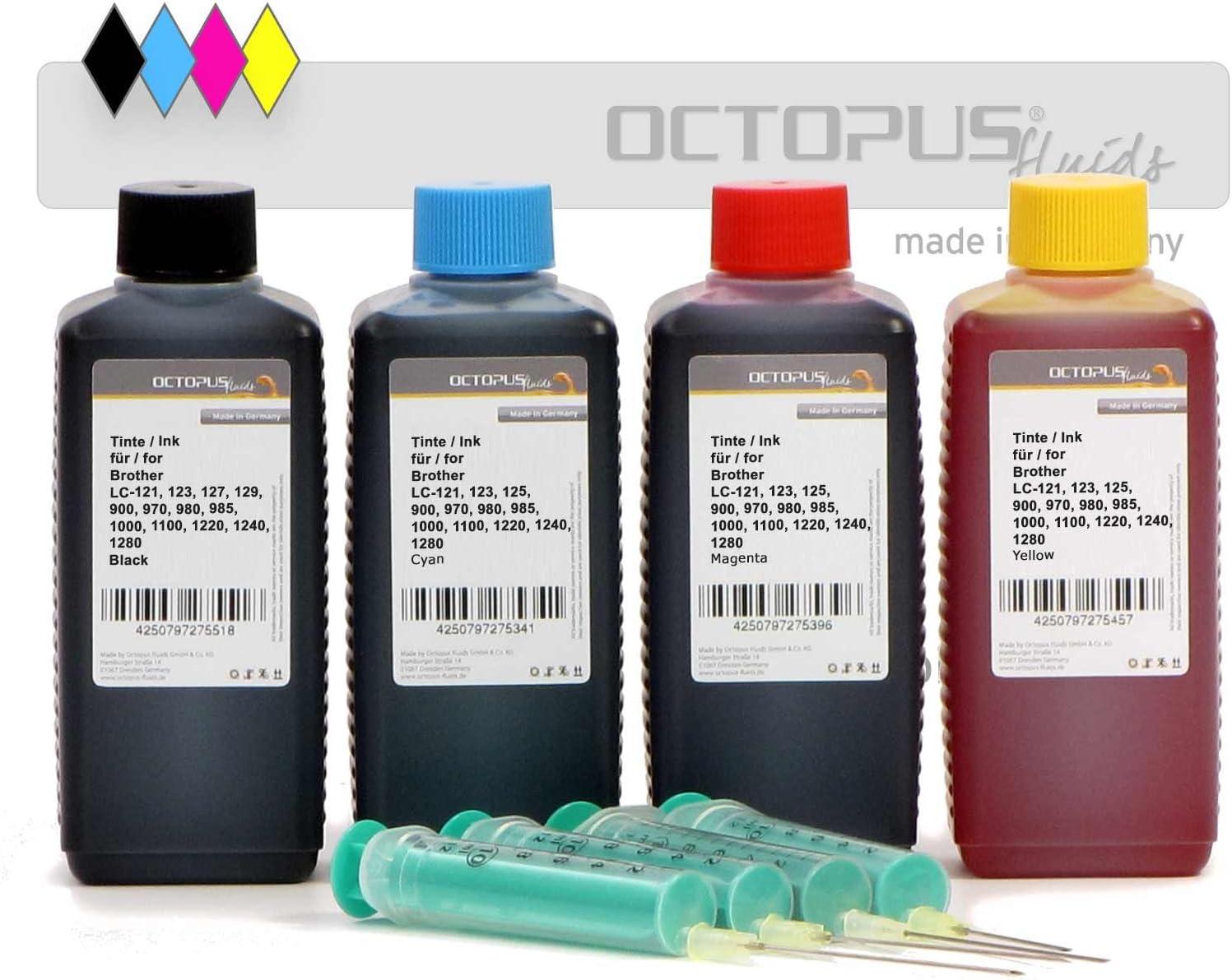 Octopus 400 ml de Tinta para Recargar, Tinta De Impresora para ...